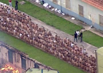 Los motines carcelarios apuntan a un conflicto entre grupos criminales en Brasil