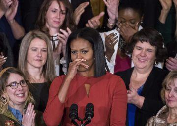 """Michelle Obama en su despedida: """"La diversidad no es una amenaza"""""""