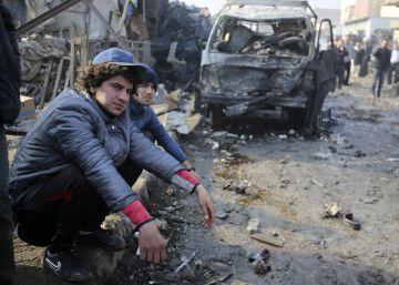 Mueren 13 personas en un atentado del ISIS en un mercado de Bagdad