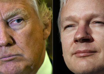 Los gemelos Trump y Assange
