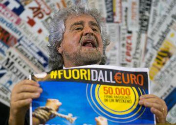 El Movimiento 5 Estrellas de Grillo se aleja del eje eurófobo