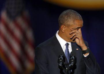 Escucha, lee y navega por el discurso de despedida de Obama