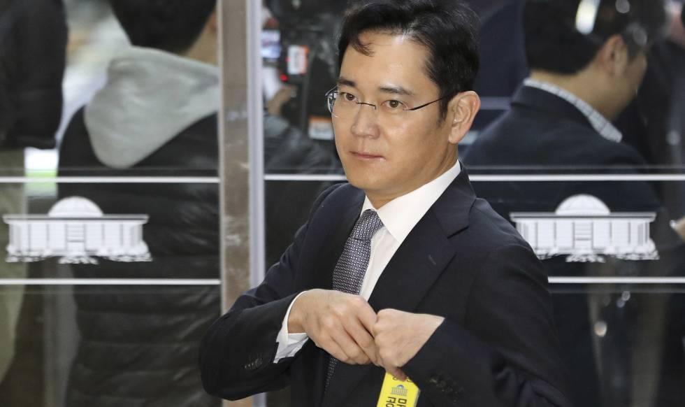 Lee Jae-yong, en una imagen tomada en diciembre de 2016.