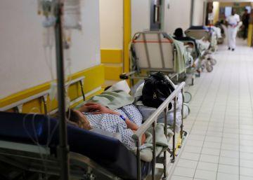 La epidemia de gripe satura los hospitales franceses