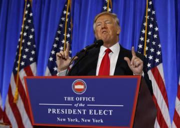 10 cosas que debes saber de la rueda de prensa de Donald Trump