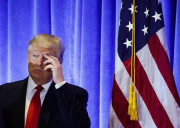 Trump manda callar a un periodista de la CNN y se niega a responderle