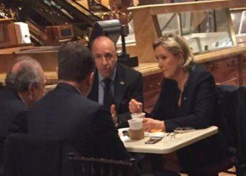 Marine Le Pen visita la Torre Trump