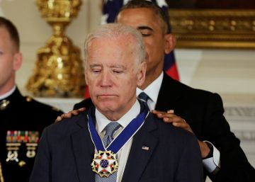 Obama condecora a Joe Biden con el máximo honor civil de EE UU