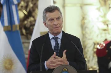 Mauricio Macri en una foto de archivo