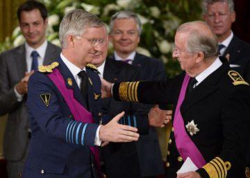 El rey de Bélgica regala 200 euros a 769 ciudadanos