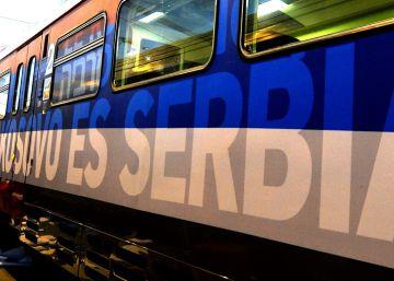 Kosovo bloquea la entrada de un tren 'nacionalista' serbio