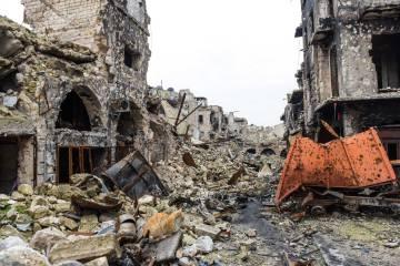 En las callejas colindantes a la Mezquita Omeya de Alepo se libraron los útimos enfrentamientos entre insurgentes y soldados regulares sirios.