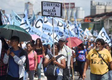 La oposición presiona a Macri a un año de la detención de la líder social Milagro Sala