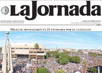 La crisis de los medios obliga a 'La Jornada' a reducir salarios para sobrevivir