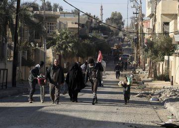 Las fuerzas iraquíes anuncian la liberación del este de Mosul
