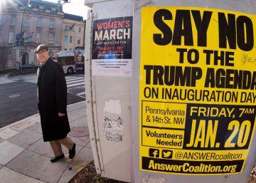 El activismo aflora ante la amenaza de Trump
