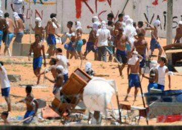 El motín de la cárcel brasileña de Natal degenera en una batalla campal entre presos