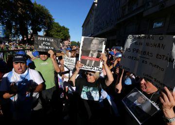 El aniversario de la muerte de Nisman reabre la brecha argentina