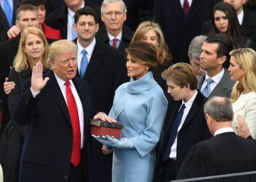 Así te hemos contado en directo la toma de posesión de Donald Trump