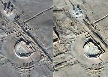 """El ISIS causa """"serios daños"""" al teatro de Palmira"""