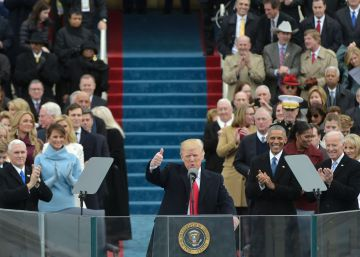 Trump irrumpe en la Casa Blanca agitando el populismo y el nacionalismo