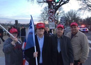 Retratos desde Washington: así son los seguidores de Trump