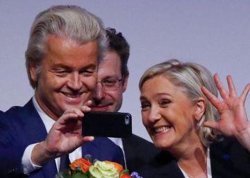 Le Pen anuncia el nacimiento de un nuevo mundo con el ejemplo de Trump
