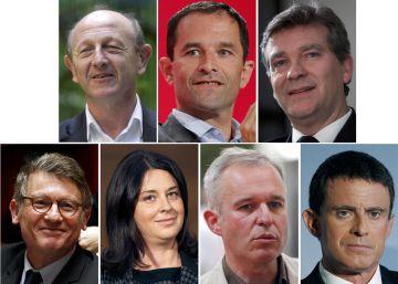 Valls queda en segunda posición en las primarias, según datos provisionales
