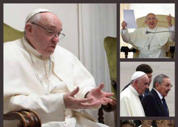 EL PAÍS entrevista en El Vaticano a Francisco el día de la toma de posesión de Donald Trump