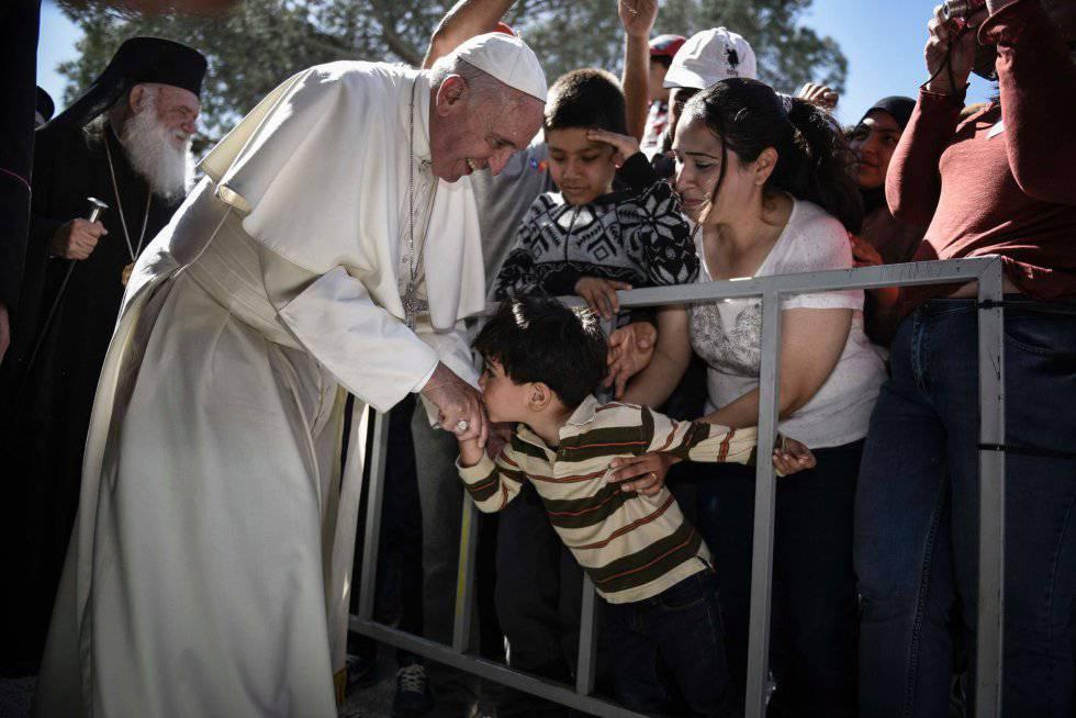 """""""Que el Mediterráneo sea un cementerio nos tiene que hacer pensar"""" y otras 19 frases del Pontífice"""