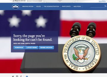 Trump removes Spanish-language link from White House website