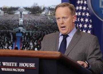 Un presidente de Estados Unidos enfrentado a los medios de comunicación