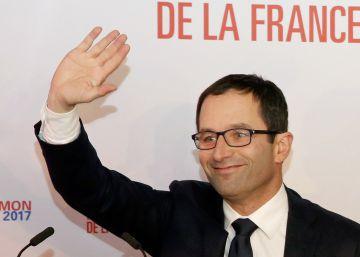 Benoît Hamon, el líder que exige impuestos a los robots