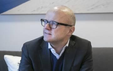 Vidar Helgesen, ministro de Medioambiente noruego.