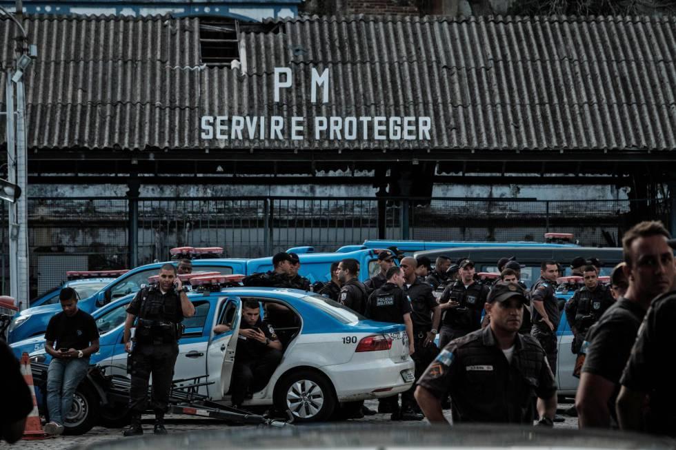 Exército é mobilizado para garantir a segurança nas ruas do Rio de Janeiro