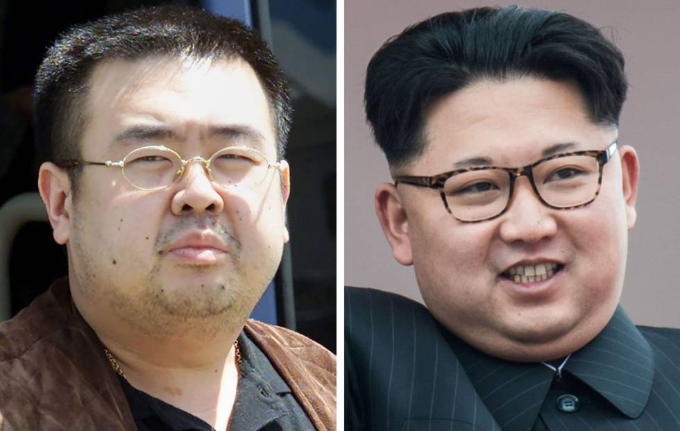 Como de foto de Kim Jong-Nam, y Kim Jong-Un.