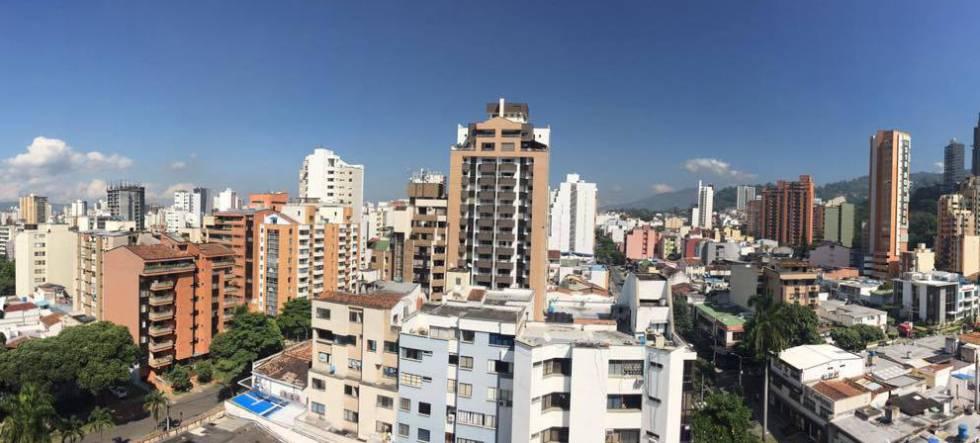Panorámica de Bucaramanga.