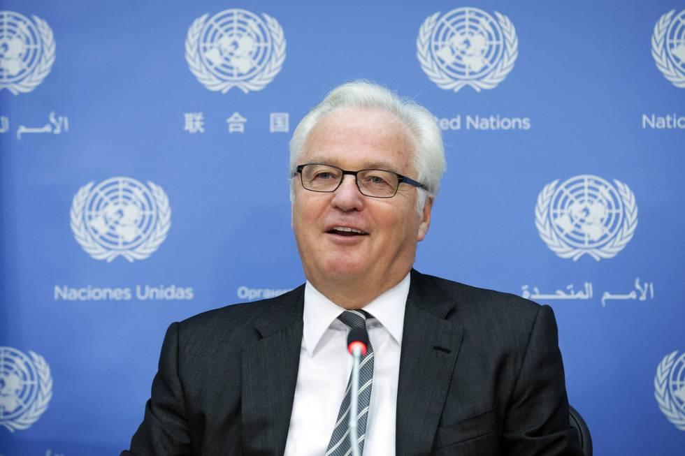 Vitaly Churkin, embajador ruso ante la ONU, en una imagen de archivo.