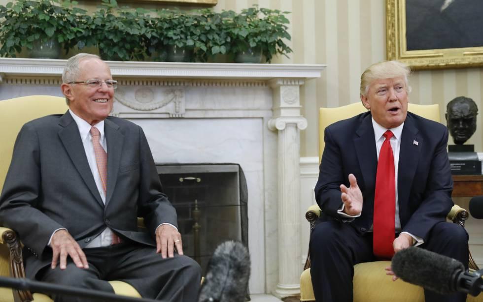 Kuczynski y Trump