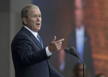"Bush se distancia de Trump: ""Los medios son indispensables para la democracia"""