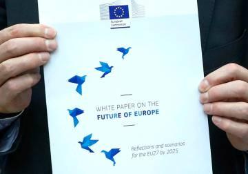 El 'Libro blanco sobre el futuro de Europa'.