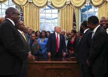 Trump está enamorado del Despacho Oval