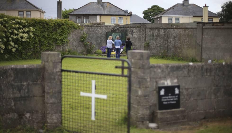 El antiguo orfanato católico de Tuam, en el Condado de Galway, en 2014rn rn
