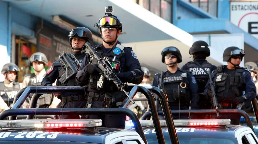 Ee uu alerta sobre las violaciones de derechos humanos en m xico estados unidos el pa s - Oficina del policia ...
