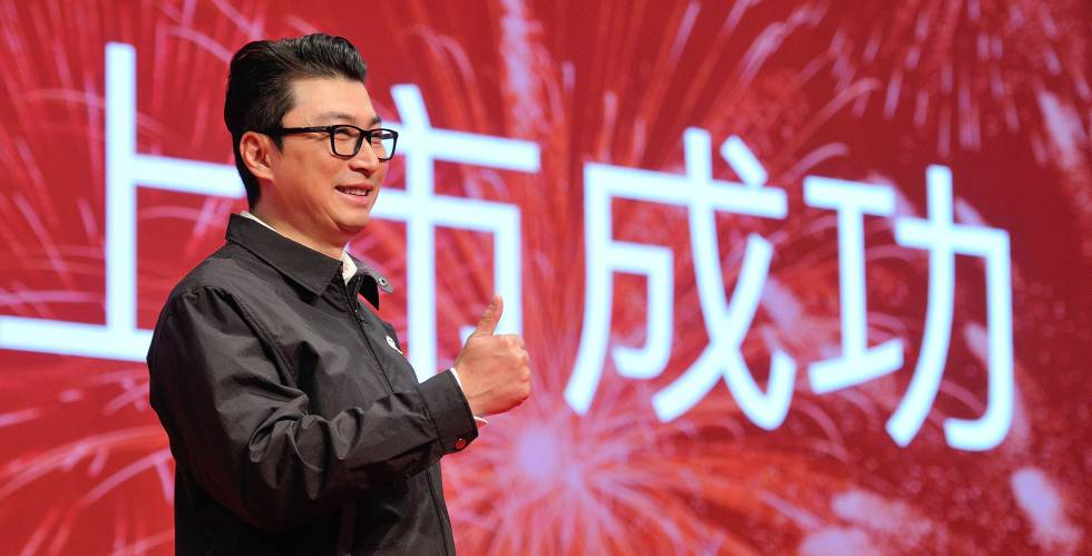 El fundador de SF Express, Wang Wei.