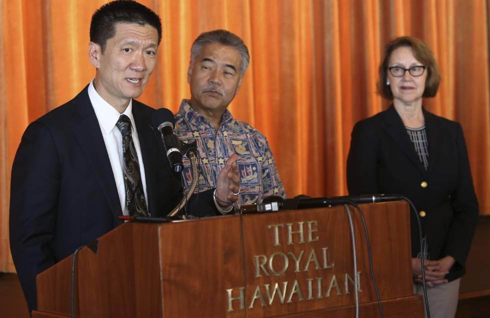 El fiscal general de Hawái, Douglas Chin, el miércoles en Honolulu.