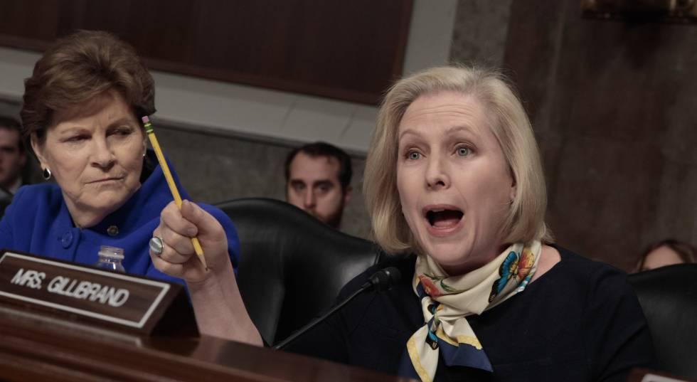 La senadora Kirsten Gillibrand pregunta al Comandante Neller.