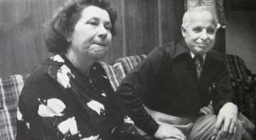 El matrimonio Karkoc a principios de los años ochenta.