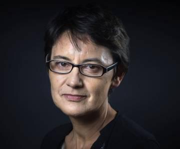 Nathalie Arthaud, en junio en París.