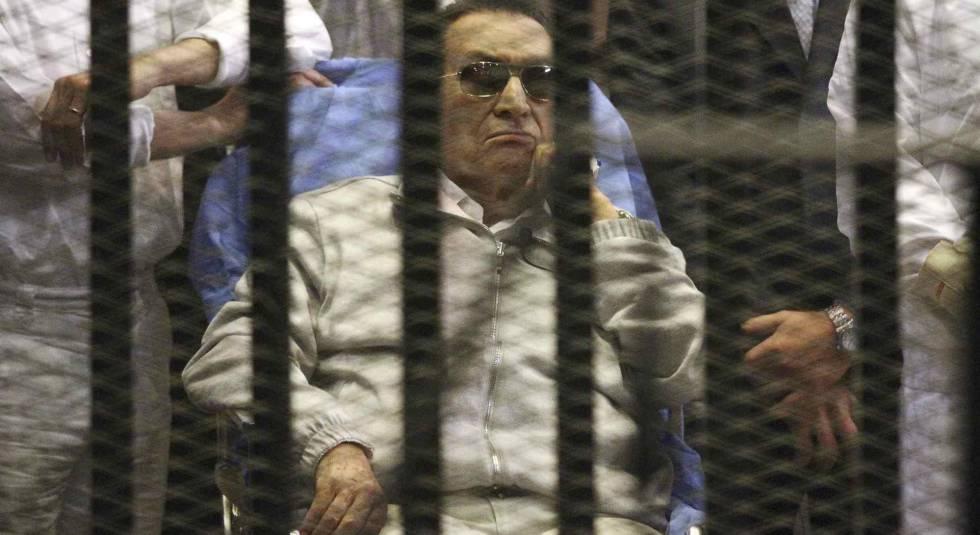 Resultado de imagem para EX-DITADOR DO EGITO É LIBERTADO POR DETERMINAÇÃO DA JUSTIÇA